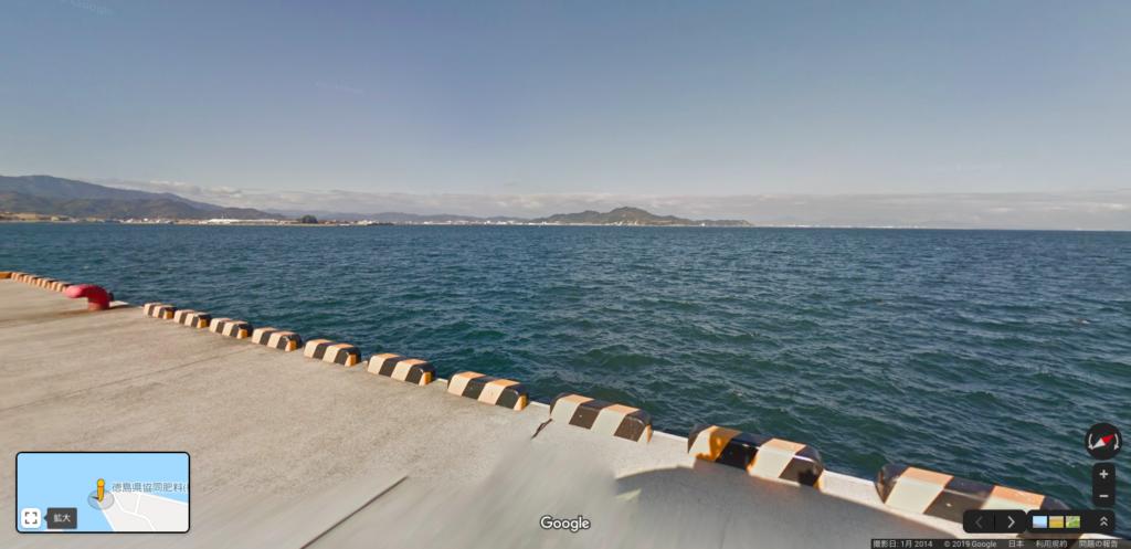 小松島市和田島町の港