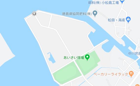 釣り場の地図