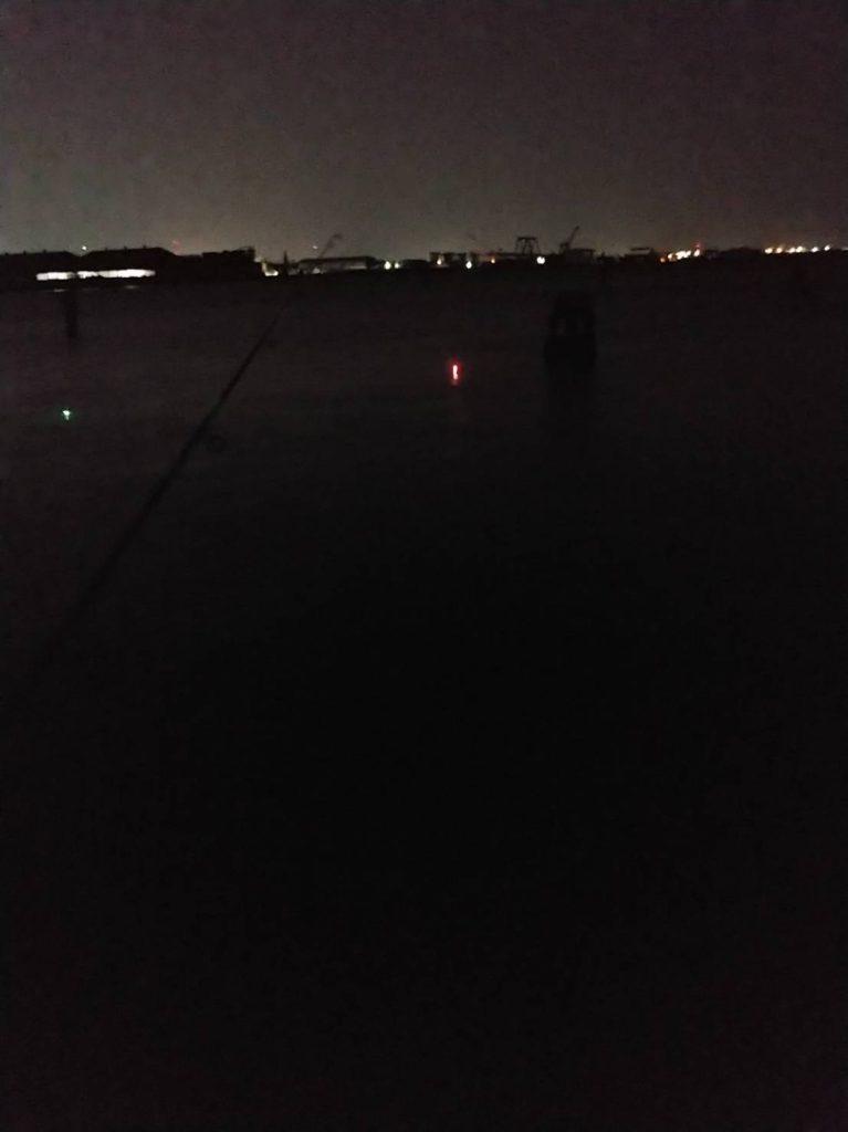 夜の津田の海 徳島の夜景