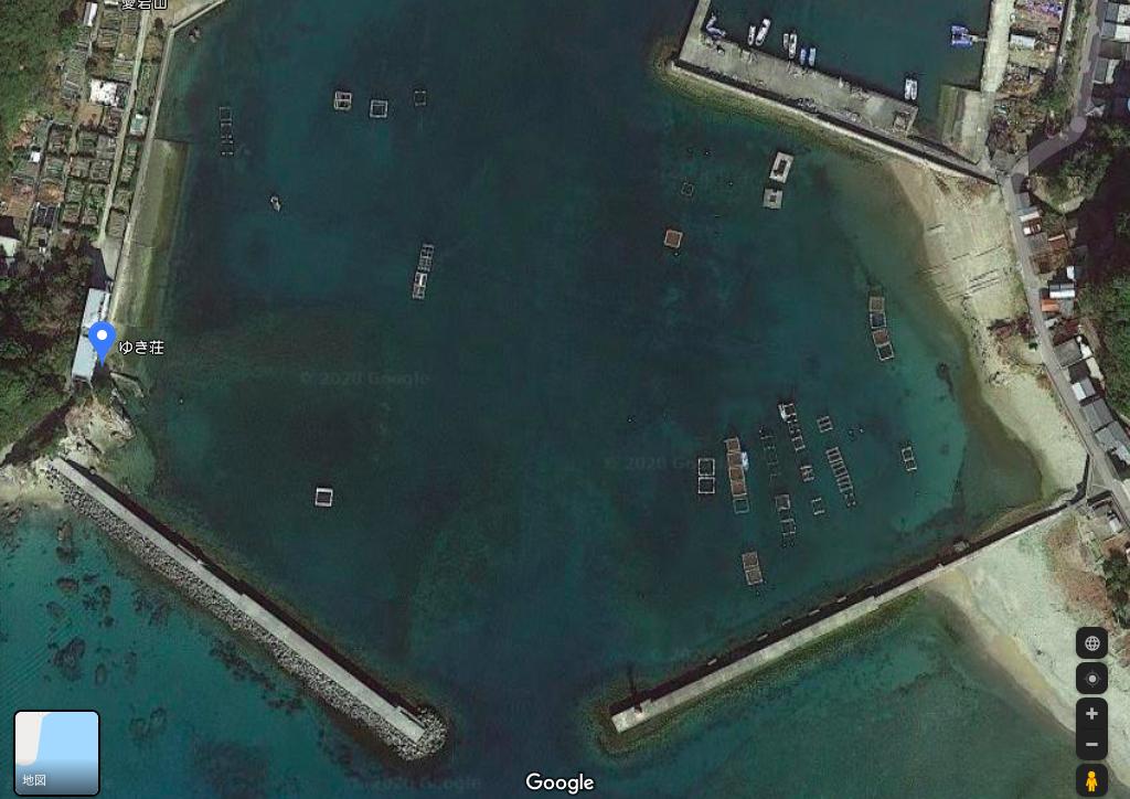 由岐の釣り場の写真