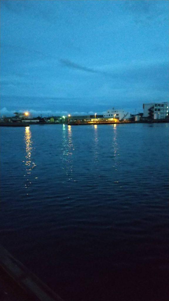 潮風公園から見た海