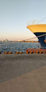 和田島の埠頭
